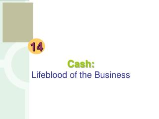Cash: Lifeblood of the Business