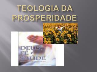 Teologia da prosperidade
