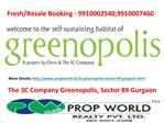 3c Greenopolis gurgaon,among the 4 main 9910002540,991000746