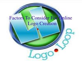 Online Logo Creation