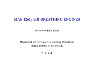 Chapter 6: Engine Design