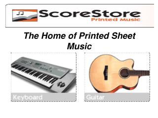 keyboard music and sheet music books