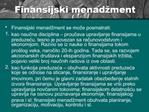 Finansijski menad ment