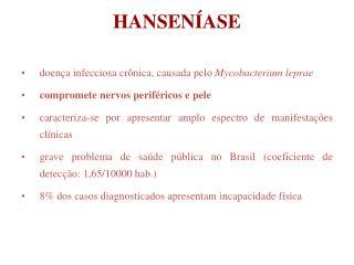 HANSEN ASE