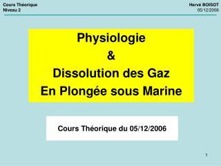 Cours Th orique du 05