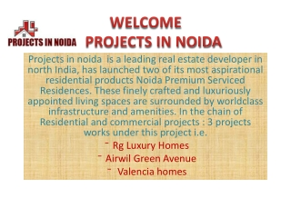 projects in noida