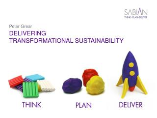 DELIVERING TRANSFORMATIONAL SUSTAINABILITY