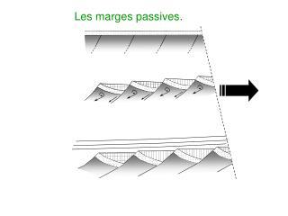 Les marges passives.