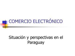 COMERCIO ELECTR NICO