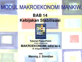 BAB 14 Kebijakan Stabilisasi