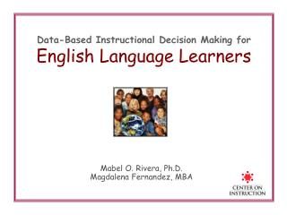 Data-Based Instructional Decision Making for English Language Learners