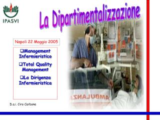 Management Infermieristico Total Quality Management La Dirigenza Infermieristica