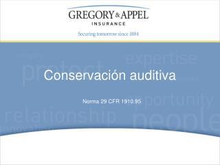 Norma 29 CFR 1910.95