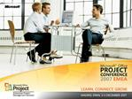 Developing Reports with the Project Server 2007 Report Pack