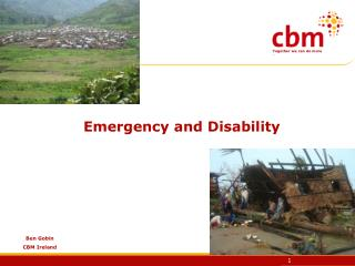 Emergency and Disability