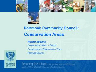 Portmoak Community Council: Conservation Areas