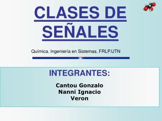 CLASES DE SE ALES