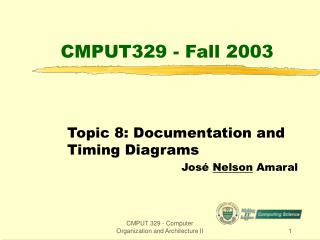 CMPUT329 - Fall 2003