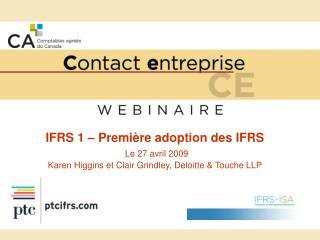 IFRS   Strat gies pratiques de planification et obligations d information  par Gordon Heard Finance Group  et  Kelly Gor