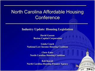 North Carolina Affordable Housing Conference