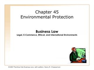 Chapter 45 Environmental Protection