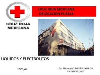 CRUZ ROJA MEXICANA        DELEGACI N PUEBLA