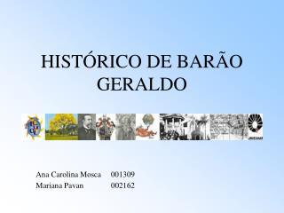HIST RICO DE BAR O GERALDO