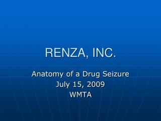 RENZA, INC.