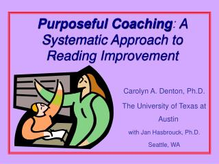 Purposeful Coaching: A Systematic Approach to Reading Improvement