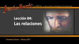 Lecci n 04: Las relaciones