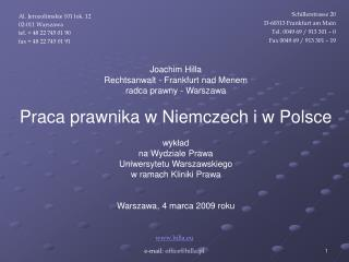 Hilla.eu e-mail: officehilla.pl