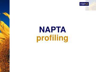 NAPTA  profiling