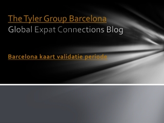 Barcelona kaart validatie periode – newsvine