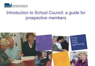 Introduction to School Council: a guide for prospective members