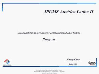 IPUMS-Am rica Latina II