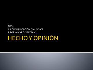 HECHO Y OPINI N