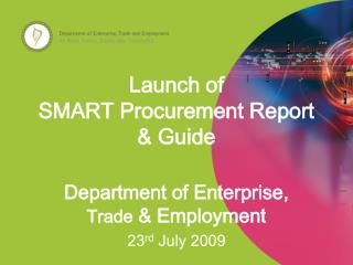 Launch of  SMART Procurement Report  Guide