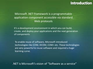 Microsoft .Net Software Outsourcing