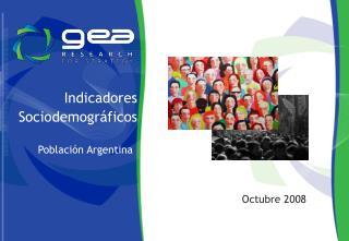 Indicadores Sociodemogr ficos