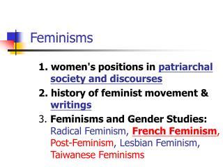 Feminisms