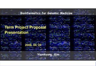 Term Project Proposal Presentation