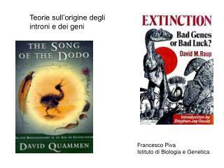 Teorie sull origine degli introni e dei geni