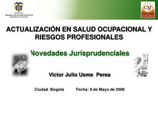 ACTUALIZACI N EN SALUD OCUPACIONAL Y RIESGOS PROFESIONALES