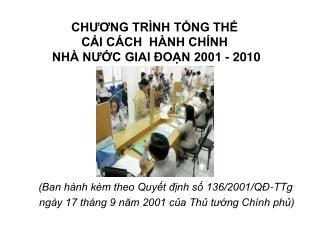 CHUONG TR NH TNG TH  CI C CH  H NH CH NH  NH  NUC GIAI  ON 2001 - 2010