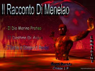 Il Racconto Di Menelao