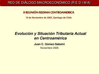 Evoluci n y Situaci n Tributaria Actual en Centroam rica