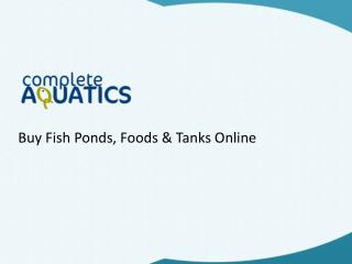 The One Stop Shop for All Your Aquatic Needs