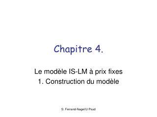 Chapitre 4.