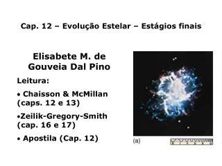 Cap. 12   Evolu  o Estelar   Est gios finais