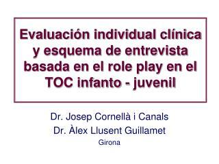 Evaluaci n individual cl nica y esquema de entrevista basada en el role play en el TOC infanto - juvenil